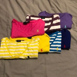 Assortment of Ralph Lauren Sport Tees